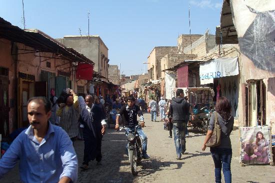 Riad Tchina : rue ou se trouve le riad