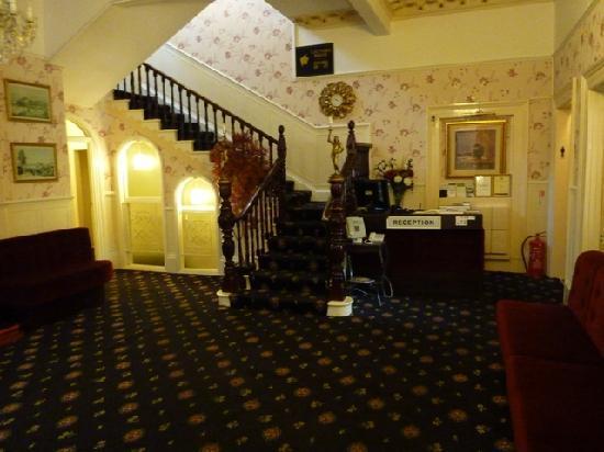 The Coppice: Reception area