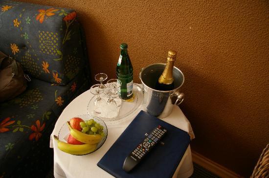 Hotel Eifelstube: Accueil