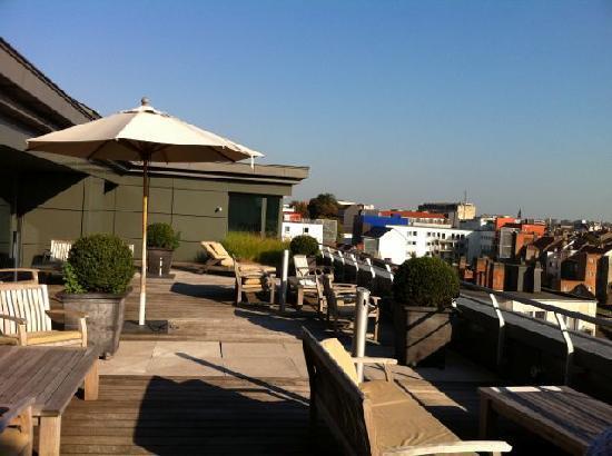 Sofitel Brussels Europe roof terrace