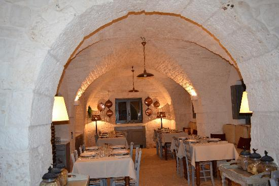 Masseria Fumarola: Dining room