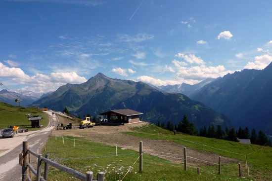Mayrhofen: Top of the cable car