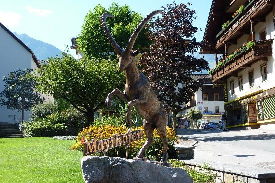Mayrhofen: the center of town