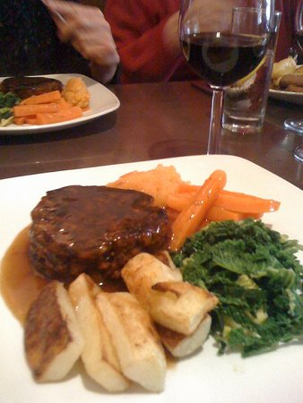 Ceno: Vegan / Vegetarian roast (needed to give notice for this)