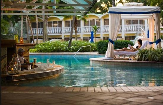 Isla Verde, Puerto Rico: Pool area