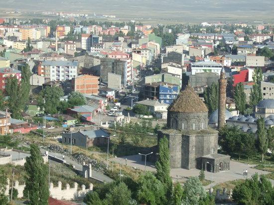Kars, Tyrkiet: カルス城からの眺め