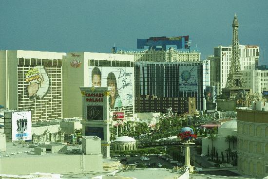 โรงแรมเดอะมิราจ & คาสิโน: vue sur le strip