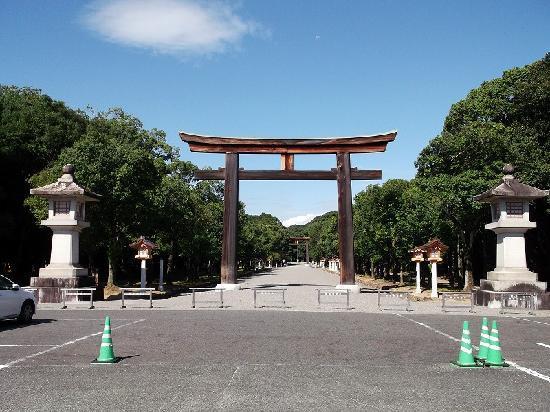 Kashihara, Japón: 大鳥居
