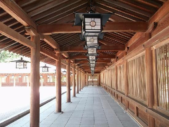 Kashihara, Japan: 本殿内