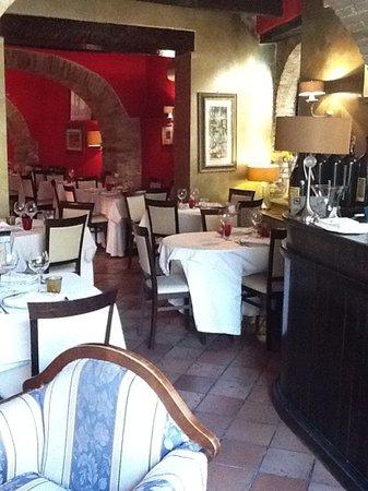 Ristorante Coccorone : main dining area