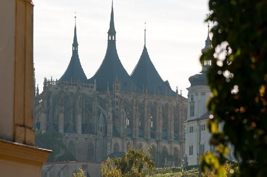 St Barbara's Cathedral: St. Barbara's is - not surprisingly! - commonly used on postcards