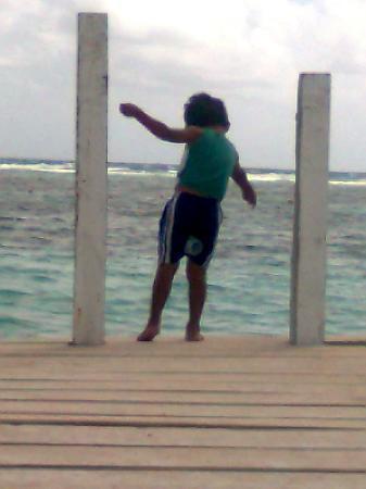 Posada Sacnah: pescando