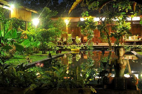 Villa Kampung Kecil: Kampung Kecil nightime