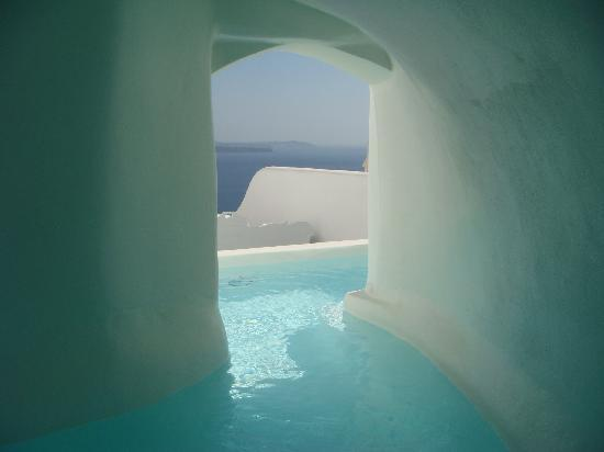 Canaves Oia Hotel: Our private pool!