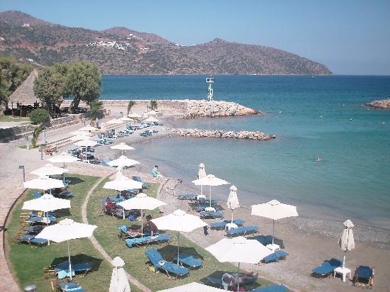 Mirabello Beach & Village Hotel: view of the beach