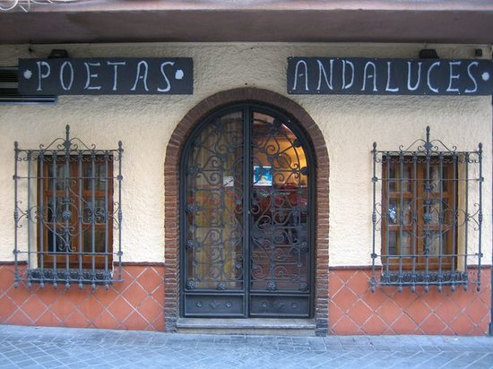 Restaurante Poetas andaluces entrada