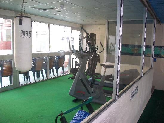 Sandy Lodge Hotel: GYM