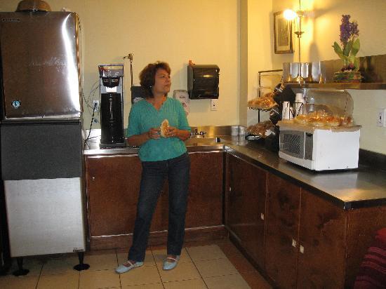 Hotel Mimosa: Donde se desayunaba