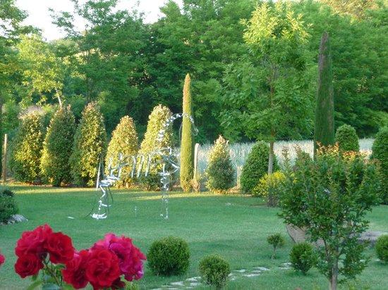 Molino di Foci: Kunst im Garten