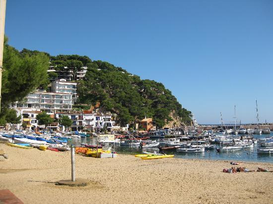 Hotel La Muntanya: Llafranc beach