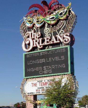 เดอะออร์ลีนส์ โฮเต็ล&คาสิโน: Orleans sign