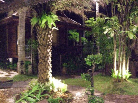 Baan Habeebee Resort: we check in at night,the while place was nice and so quiet.