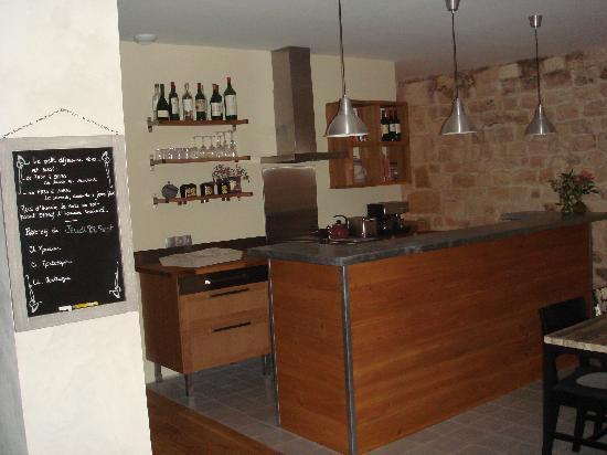 L'Esprit des Chartrons : Kitchen area