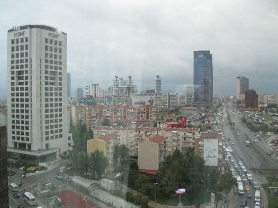 Mercure Istanbul City Bosphorus Hotel: Aussicht