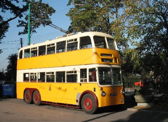 Lowestoft, UK : Newcastle trolleybus 501