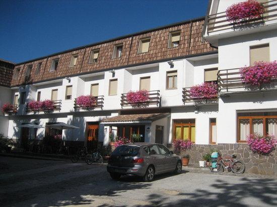 Campo Di Giove, Italy: Hotel Abruzzo August 2011