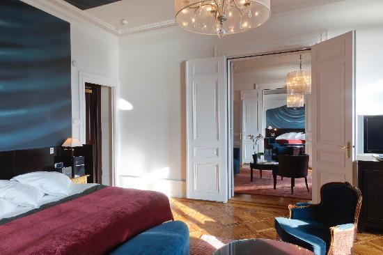 Hotel De La Paix Geneva: Mont-Blanc Suite