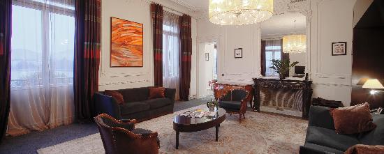 Hotel De La Paix Geneva: Grace Kelly suite