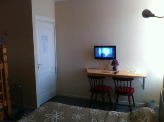 Auberge de l'Estanquet : la chambre