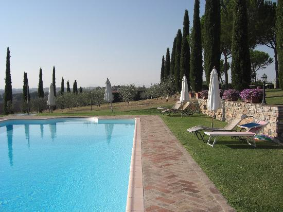Casale di Brolio: zwembad