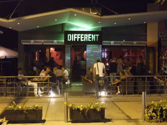 Paphos, Cyprus: Different Bar at Night