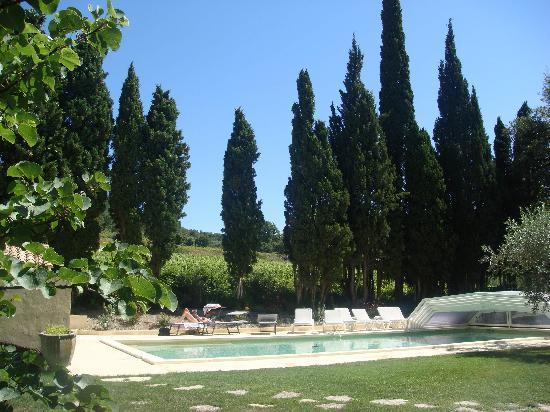 Chateau Juvenal: swimming pool