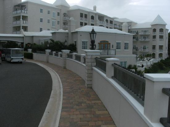 Tuckers Point Club Golf Villas: entrance to the hotel