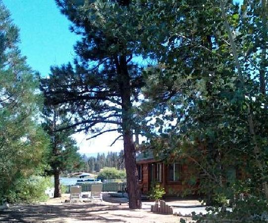 Quail Cove Lakeside Lodge: Cabin with Lake view