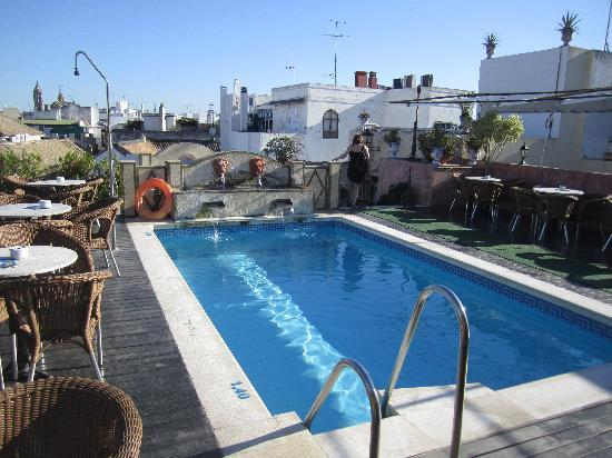 Roof Top Pool Picture Of Hotel Dona Maria Seville Tripadvisor