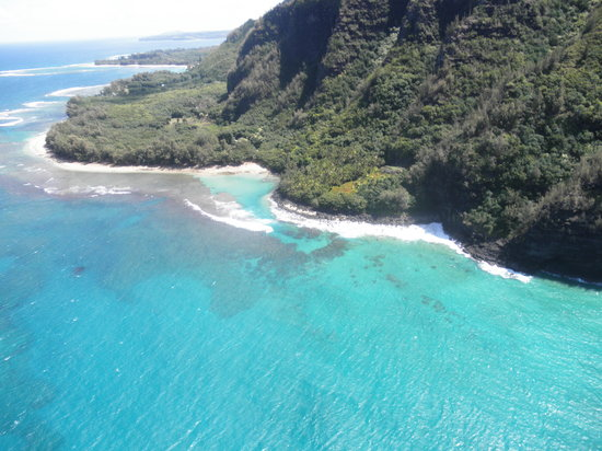 Inter-Island Helicopters - Tours: Na Poli Coastline