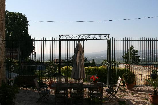 La Chevalee : View from the courtyard