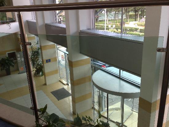 Trakia Plaza Hotel : хол