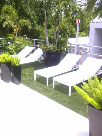 Sanctuary South Beach: Rooftop Sundeck