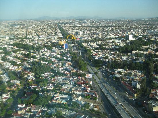 Hotel Riu Plaza Guadalajara : Vista desde la habitación piso 40