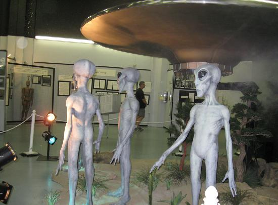 International UFO Museum and Research Center: aliens