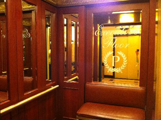 Private Elevator Picture Of The Palmer House Hilton