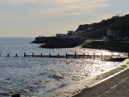 Westfield Lodges and Apartments: Coastal path from Bonchurch to Ventnor