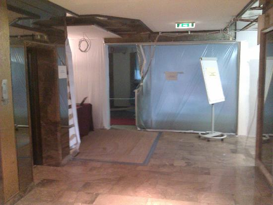 NH Wiesbaden: The lobby being rebuilt