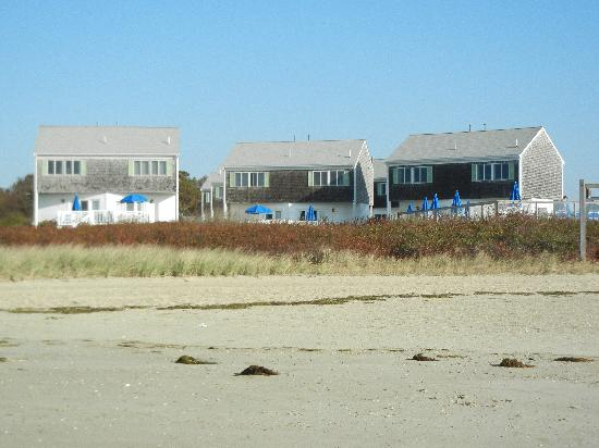 Green Harbor on the Ocean: View of the townhouse from the beach