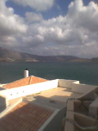 Akti Olous Hotel: Scene from top of the 4th floor swimming pool